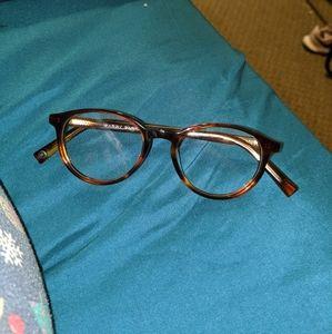 Warby Parker glasses (no prescription)
